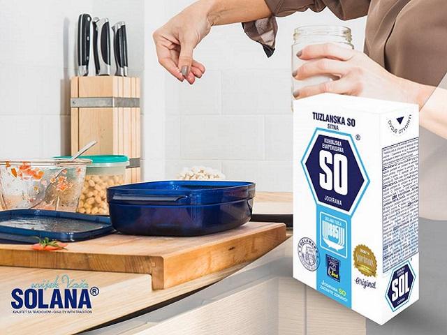 Proizvodi tuzlanske Solane na tržištu cijele jugoistične Evrope