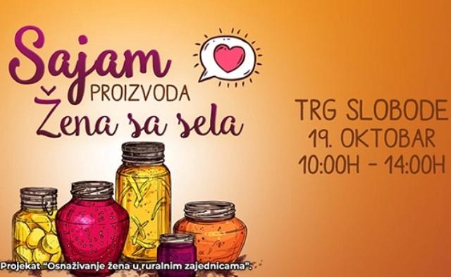Sajam proizvoda žena sa sela 19. oktobra u Tuzli