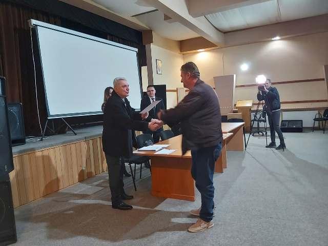 Dodijeljeni certifikati polaznicima obuke za samozapošljavanje u poljoprivredi